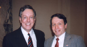Steve with Steve Forbes